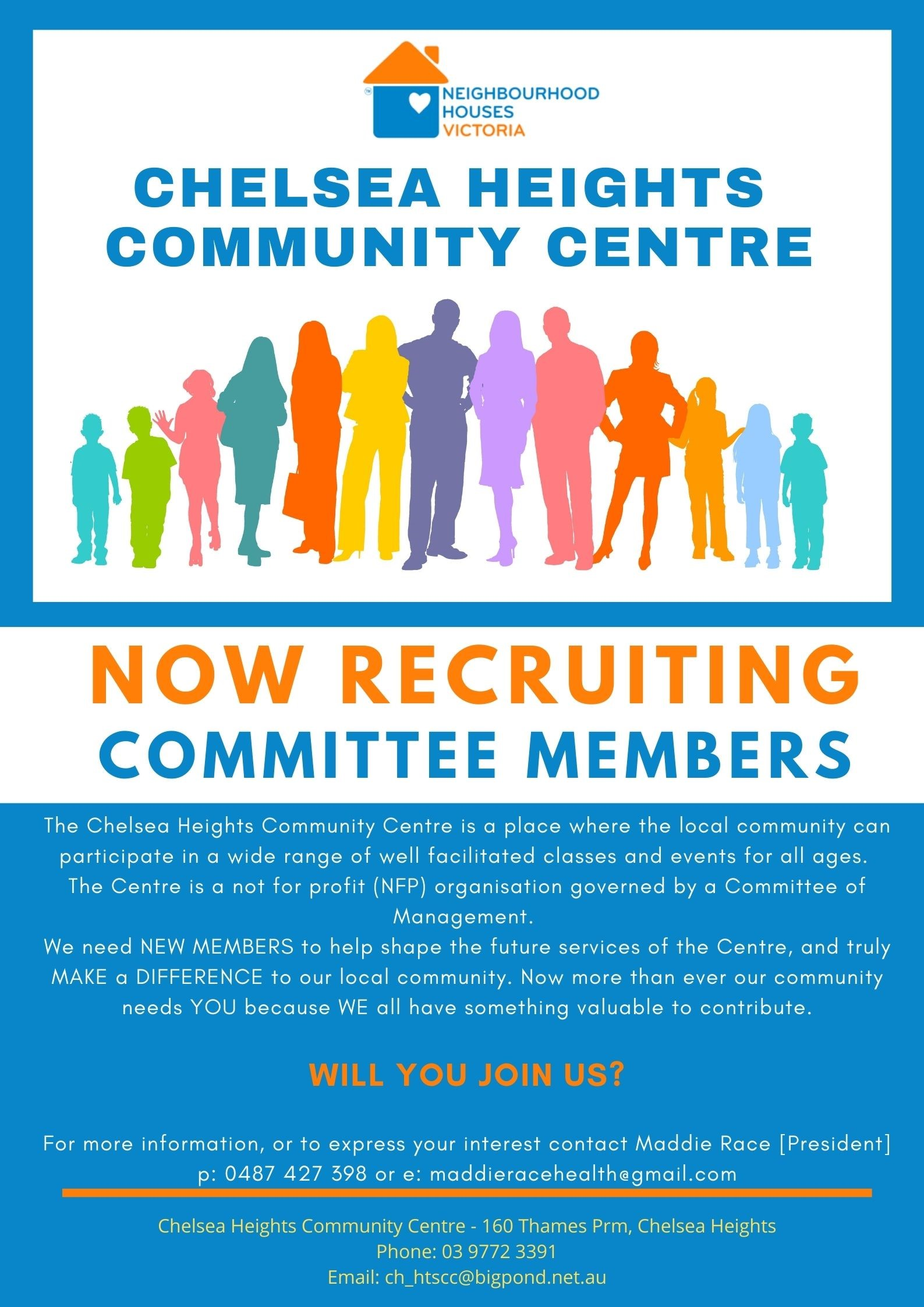 Flyer for Committee