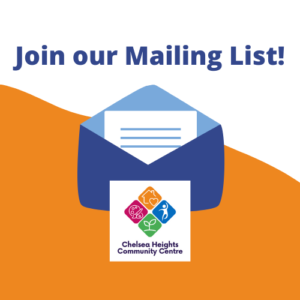 Copy of Join our Mailing List!